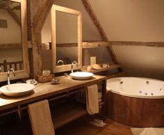 Photo Deco : Salle de bains   Romantique   Chateau Romantique Moderne