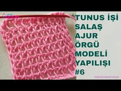 Tunisian Crochet Stitches, Crochet Hats, Youtube, Knitting Hats, Youtubers, Youtube Movies