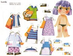 Sweet Memories, Paper Dolls, Free Printables, Mexico, Paper Crafts, Comics, Paper Puppets, Etchings, Baby Dolls