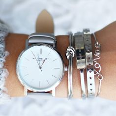 My Jewellery - Limited Edition Watch - Grey (Goud / Rosé Goud / Zilver) - Luxedy - 4