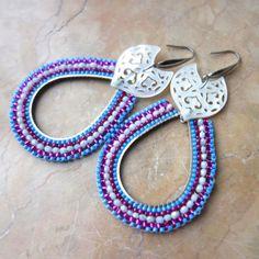 Schmuck Design, Beaded Bracelets, Jewelry, Semi Precious Beads, Handmade Jewelry, Ear Rings, Chain, Jewlery, Bijoux