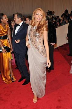 Blake Lively at the 2011 Met Gala - All The Times Celebrities Stunned in Chanel - Photos