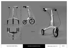 Rollator Design by Serkan Aksan at Coroflot.com