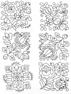 Marvelous Crewel Embroidery Long Short Soft Shading In Colors Ideas. Enchanting Crewel Embroidery Long Short Soft Shading In Colors Ideas. Mexican Embroidery, Hungarian Embroidery, Hardanger Embroidery, Brazilian Embroidery, Learn Embroidery, Crewel Embroidery, Embroidery Needles, Embroidery Designs, Types Of Embroidery