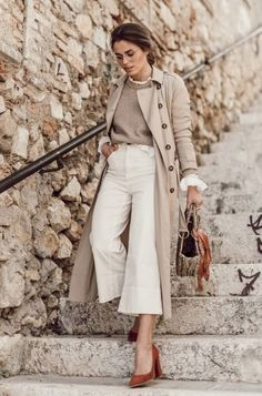 20 looks with a trench coat for testing in winter - Mode Herbst - Style Outfits, Mode Outfits, Fashion Outfits, Womens Fashion, Fashion Trends, Office Outfits, Girl Outfits, Skandinavian Fashion, Trench Coat Outfit
