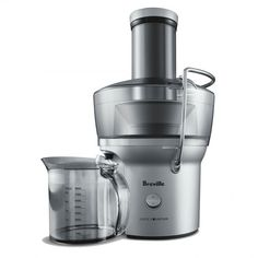 Breville BJE200XL Personal Fountain Juicer Chrome