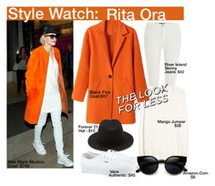"""""""Style Watch : Rita Ora"""" by nfabjoy ❤ liked on Polyvore featuring River Island, MANGO, Forever 21, Vans, ZeroUV, LookForLess, ritaora, CelebrityStyle and stylewatch"""
