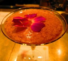 Raspberry-Yuzu Martini