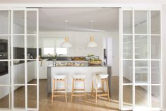 Flur Design, Küchen Design, House Design, Interior Design, Design Case, Inside Design, House Windows, Home Kitchens, Home Furnishings