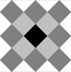 pieceful kwilter: No Waste Granny Square quilt block cutting sizes (with no bias on the edges!)