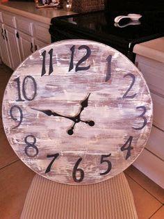 Creative DIY Gal: Vintage Inspired clock