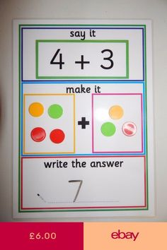 Math games 335096028526222831 - 64 Trendy Math Games To Make Numbers Source by damota Maths Eyfs, Numeracy Activities, Addition Activities, Math Addition, Kindergarten Math, Math Games, Preschool Activities, Addition Games, Number Games