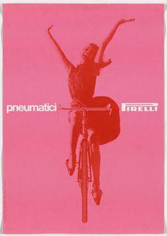 Massimo Vignelli. Pneumatici Pirelli. 1963