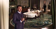 """Wielki Gatsby"" 2013, dom Buchananów. / The Great Gatsby 2013, Buchanan's mansion."