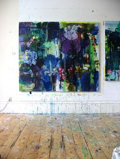 Private Gardens #2 Irises - I Will Always Love You         (studio wall) by caroline havers, via Flickr