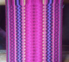 Brikkevevd belte til beltestakk | tablet weaving