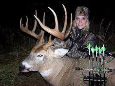 My girl crush - Whitney Isenhart. (One of my favorite female hunters)