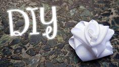 DIY - Como hacer rosas de cinta / How to make ribbon roses | Craft Attack