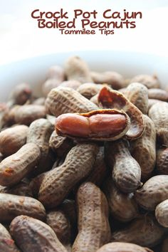 All-Day Cajun Boiled Peanuts | You have to try this Southern snack recipe!