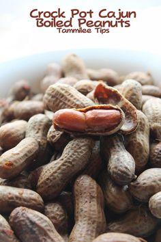All-Day Cajun Boiled Peanuts | FaveSouthernRecipes.com