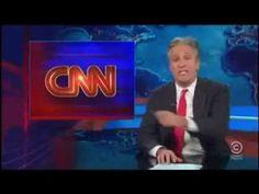 "Jon Stewart Blasts CNN  For ""Wrongnado"" Of DisInformation"
