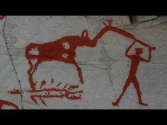 kalliomaalauksia Norjan Altalta,  taustalla saamelaismusiikkia