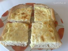 Slaný smotanový koláč (fotorecept) - recept | Varecha.sk 20 Min, Spanakopita, Paleo, Cheese, Snacks, Ethnic Recipes, Desserts, Food, Basket
