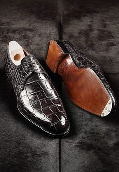 Crocodile shoes, alligator shoes, best leather dress shoes, luxury leather dress shoes for men