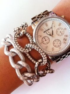 Bracelet & Watch. Looooooove