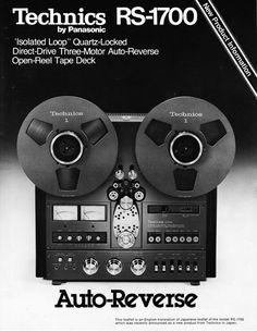 TechnicsRS1700 - www.remix-numerisation.fr - Rendez vos souvenirs durables ! - Sauvegarde - Transfert - Copie - Digitalisation - Restauration de bande magnétique Audio - MiniDisc - Cassette Audio et Cassette VHS - VHSC - SVHSC - Video8 - Hi8 - Digital8 - MiniDv - Laserdisc - Bobine fil d'acier - Digitalisation audio