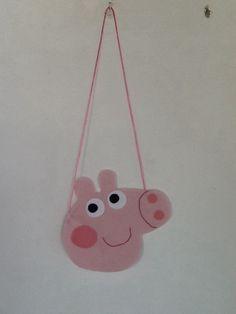 Brinde Bolsinha Peppa Pig feltro