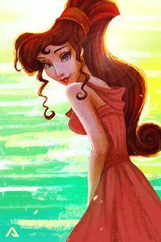 """Megara by Andreanable.deviantart.com on @DeviantArt - From """"Hercules"""""""