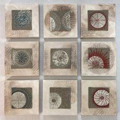 Tutorial: mounting small textiles on a gallery wrapped canvas – Lyric Art Gel Medium, Lyric Art, Art Tutorials, Textile Art, Collage Art, Fiber Art, Wool Felt, Wrapped Canvas, Canvas Art