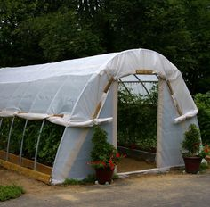 Awesome hoop house!