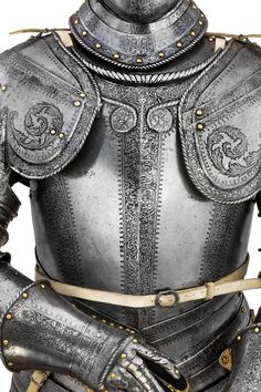 A NORTH ITALIAN ETCHED LIGHT CAVALRY ARMOUR, circa 1560-80 for sale on…