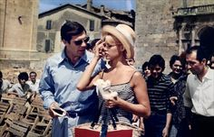 Vie privée - Brigitte Bardot - Marcello Mastroianni