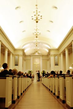 Perkins Chapel at SMU is also perfect for the deco theme