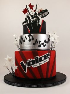 The Voice beast cake