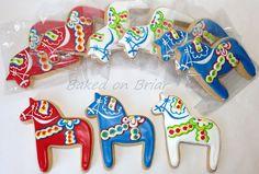 Swedish Dala Horse Cookies | Flickr - Photo Sharing!