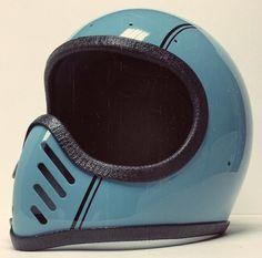 Bell Moto 3, vintage helmet, Chemical Candy Customs