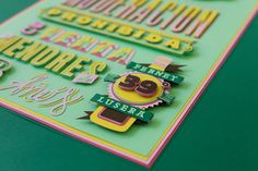 Typography lover by Pablo Alfieri, via Behance