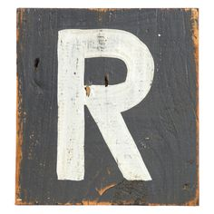 """Zentique Decor Wooden Small Letters @Sarah Nasafi Grayce. wood. 8"""" x 8"""" $30"""