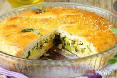 Receita de Torta de alho poró em receitas de tortas salgadas, veja essa e outras receitas aqui!