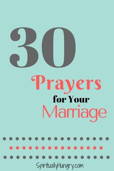 I'm not even married, and these prayers are absolutely amazing for just being in a relationship!
