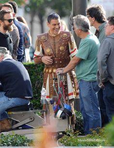Hail, Caesar!  - Behind the scenes photo of George Clooney