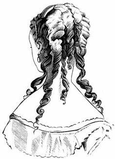 Brilliant Woman Hairstyles Chignons And Victorian On Pinterest Short Hairstyles Gunalazisus