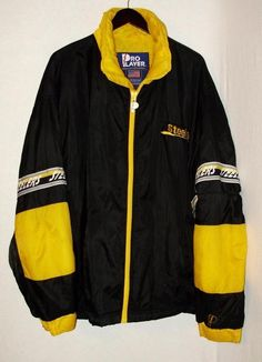 Pittsburgh Steelers Winter Coat-Size Large-Washable-Good Condition-Free Shipping #ProPlayer #PittsburghSteelers