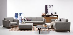 Ceni Volcanic Gray Sofa - Sofas - Bryght | Modern, Mid-Century and Scandinavian Furniture