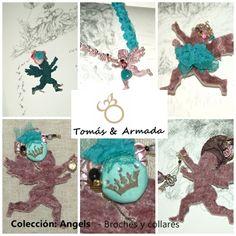 Colección broches ángeles