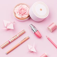Absolutely Rose- #Lancome #SpringCollection #BlushPoudrer #JuicyShaker #LeStylo